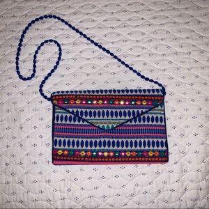 Handbags - Multicolored Unique Indian hand bag
